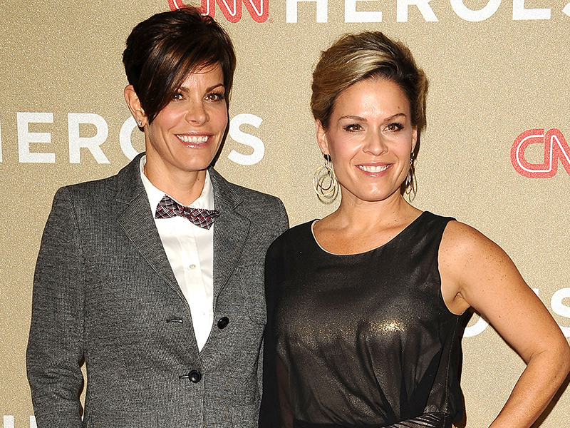 Cat Cora y Jennifer
