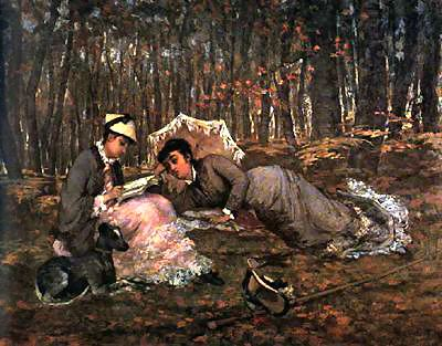Eva_Gonzalès_-_Reading_in_the_Forest (1)