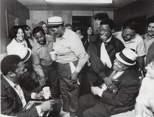 Big Mama Thornton con B.B King y Roosevelt Sykes