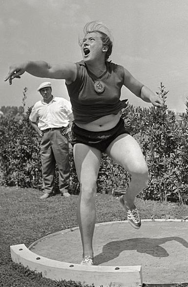 Tamara Press en los Juegos Olímpicos de 1960